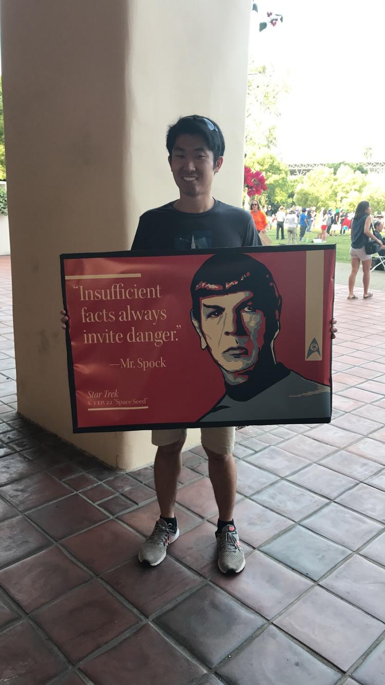 Spock sign